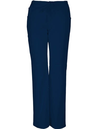 Women's Premium Collection Stretch Drawstring Cargo Scrub Pant Petite