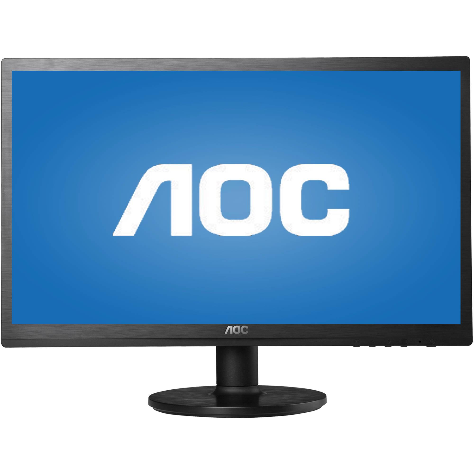 "AOC Monitor 24"" Full HD 1920x1080 VGA DVI-D E2460SD"