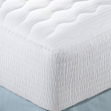 Beautyrest Cotton Sateen Stripe Mattress Pad in Multiple Sizes