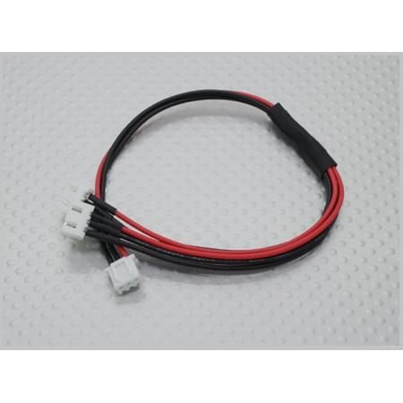 Many Helicopter Quadcopter Airplane Boat Car Controller Jst Xh Parallel Balance Lead 2S Wire Cable 250Mm   2Xjst Xh  22Awg Rc Electronics