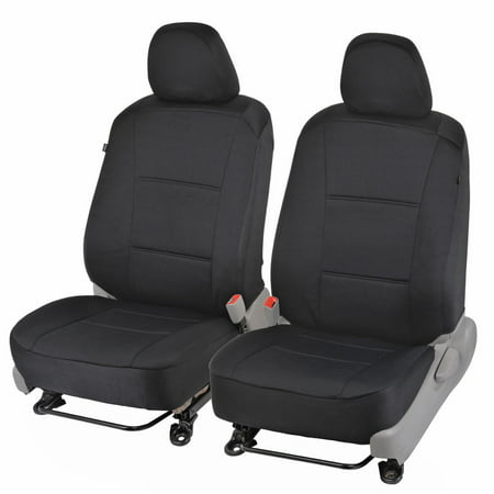 - Custom Fit Seat Covers for Toyota Camry 2012-15 - Polyester Cloth (Black)