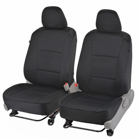 Custom Fit Seat Covers for Toyota Camry 2012-15 - Polyester Cloth (Black) (Any Custom Seat)