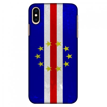 - iPhone Xs Max Case, Ultra Slim Case iPhone Xs Max Handcrafted Printed Hard Shell Back Protective Cover Designer iPhone Xs Max Case (2018) - Love For Cape Verde Islands