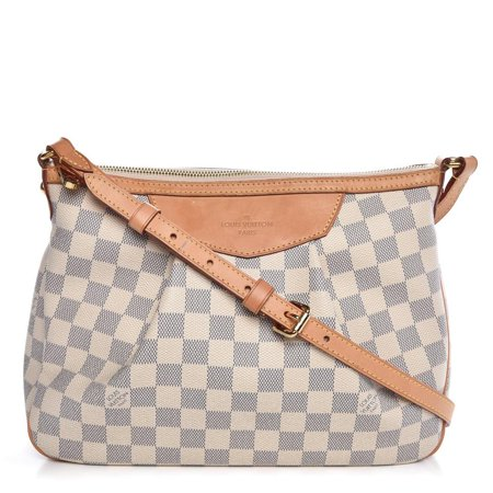 5ff0fa125873 Louis Vuitton - Louis Vuitton Siracusa Damier Azur Pm 869015 White Coated  Canvas Shoulder Bag PRE-OWNED - Walmart.com