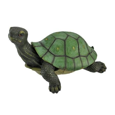 Gorgeous Lifelike Tortoise Garden Statue Turtle Decor - image 3 de 3