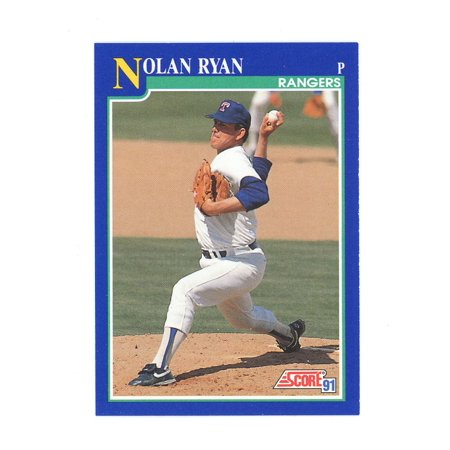 1991 Score #4 Nolan Ryan Throwing a Fastball Texas Rangers - Generation 2 Throwing