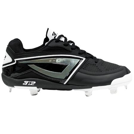 3n2 DOM-N-8 Metal With Pitcher's Toe Fastpitch Softball - 3n2 Softball Cleats