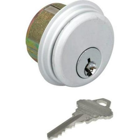 Mortise Cylinder-Standard Cam, Sc1 Ka Satin Chrome, Package Of 2 ()