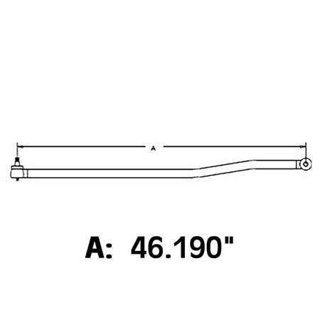 885549M91 Drag Link For Massey Ferguson Tractor 175 178
