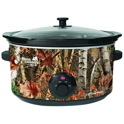 Open Country 8 Qt Slow Cooker (Camouflage)