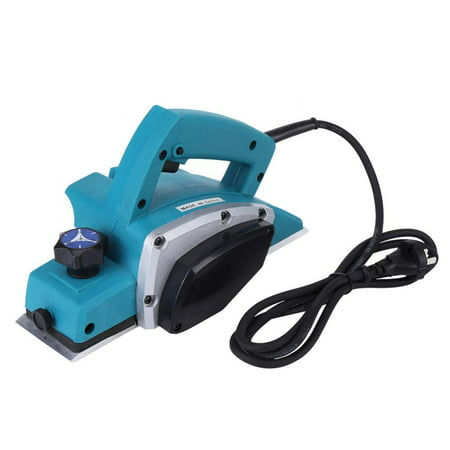 Yosoo 110V Portable Electric Wood Planer Hand Held Woodworking Power Tool for Home Furniture ,Wood Planer, Handheld