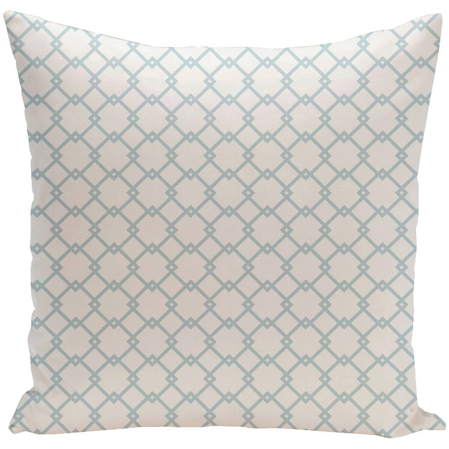 """Simply Daisy 16"""" x 16"""" Holiday Brights Collection Geometric Pillow"""
