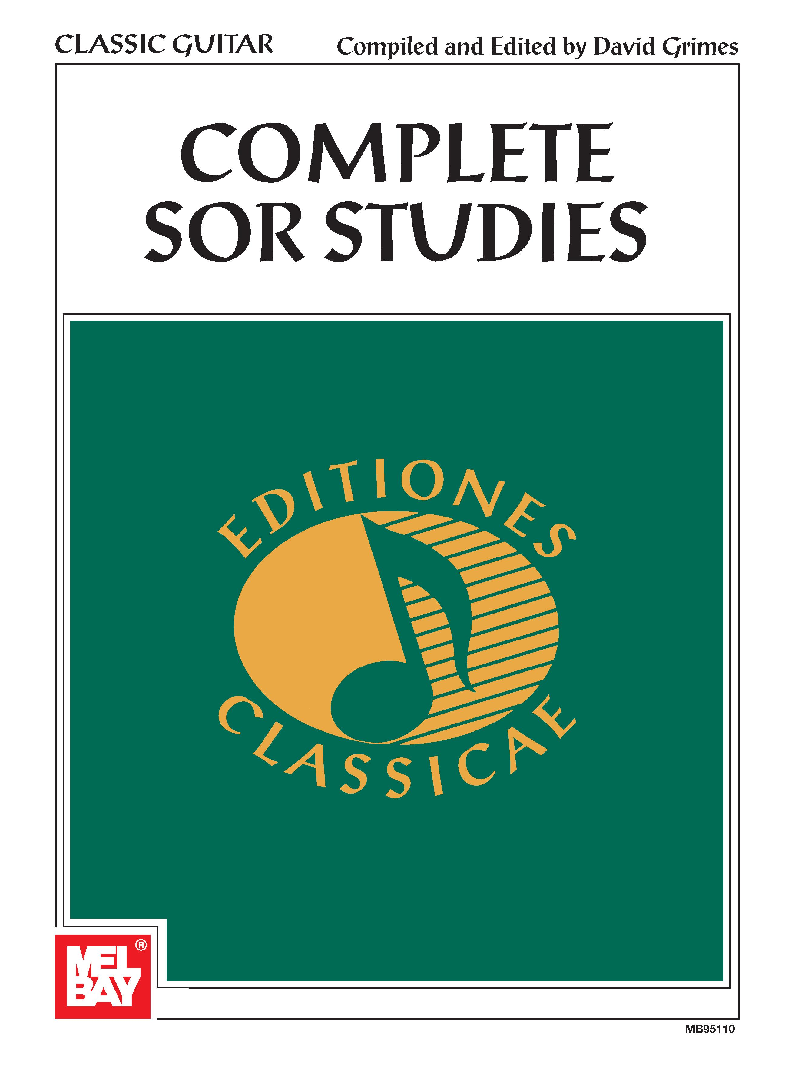 Mel Bay Presents Complete Sor Studies by Mel Bay Publications, Inc.