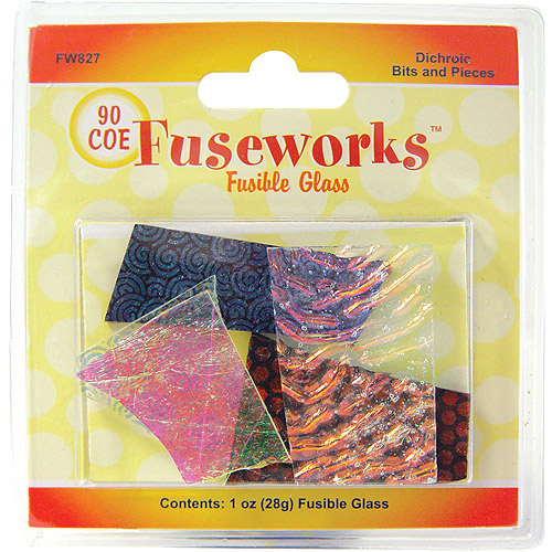 Diamond Tech Fuseworks Dichroic Glass Bits and Pieces