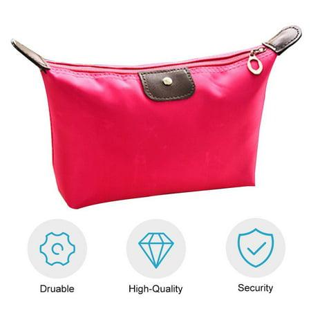 Waterproof Nylon Women Makeup Cosmetic Bags Travel Beauty Toiletry Bag - image 6 of 8