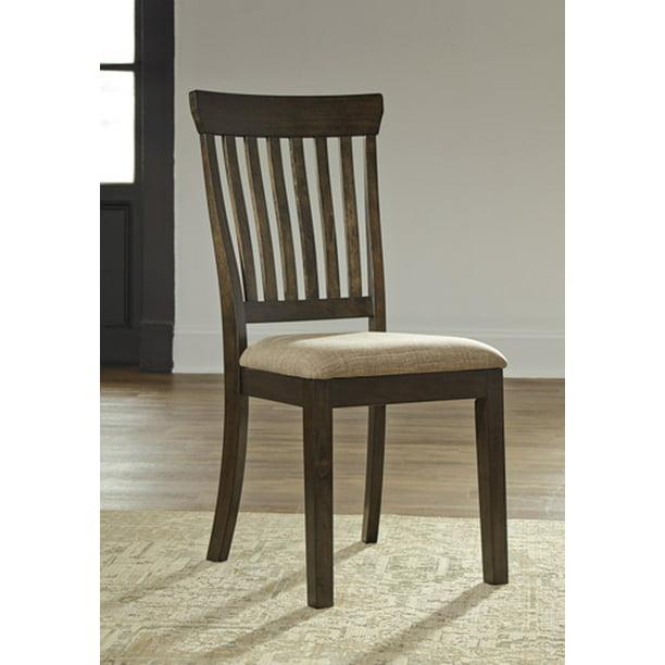 Ashley Alexee Dark Brown Dining Side Chair Set Of 2 Walmart Com Walmart Com