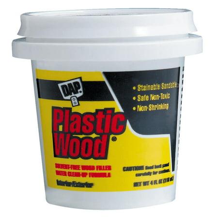 DAP 21400 4 oz Light Oak Plastic Wood® Solvent Professional Wood Filler