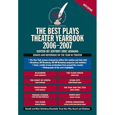 The Best Plays Theater Yearbook (The Ecological Theater And The Evolutionary Play)