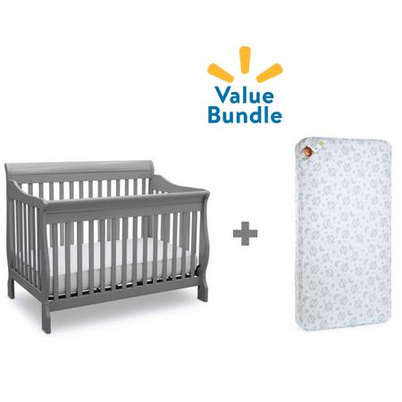 Delta Canton 4-in-1 Convertible Crib + Mattress Value