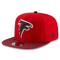 Atlanta Falcons New Era 2017 Sideline Official 9FIFTY Snapback Hat - Red - OSFA
