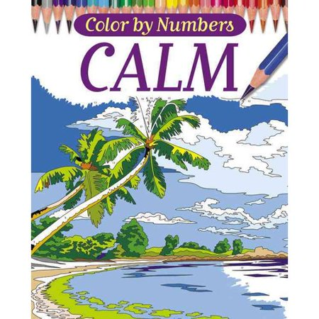 It is an image of Accomplished Color By Number Adult Coloring Books