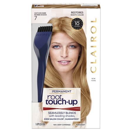 Clairol Root Touch-Up Permanent Hair Color, 7 Dark