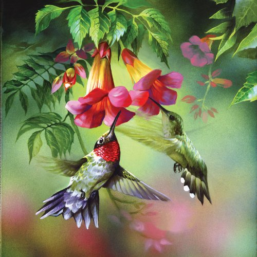 Summer Hummer a 1000-Piece Jigsaw Puzzle by Sunsout Inc.