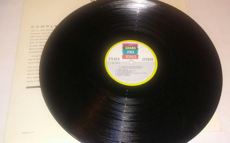 A Tribute to Ken Griffin -The Grand Prix Series Vinyl LP Record Album -  K-188