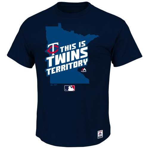 Minnesota Twins Majestic Authentic Collection Team Driven T-Shirt - Navy