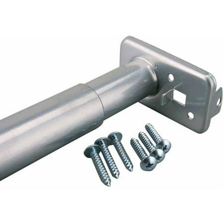 Knape And Vogt 72 Quot To 120 Quot Platinum Adjustable Closet Rod