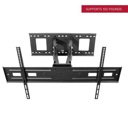 Seneca Av Full Motion Tilt Wall Mount  For 37   80 Flat Panel Screens