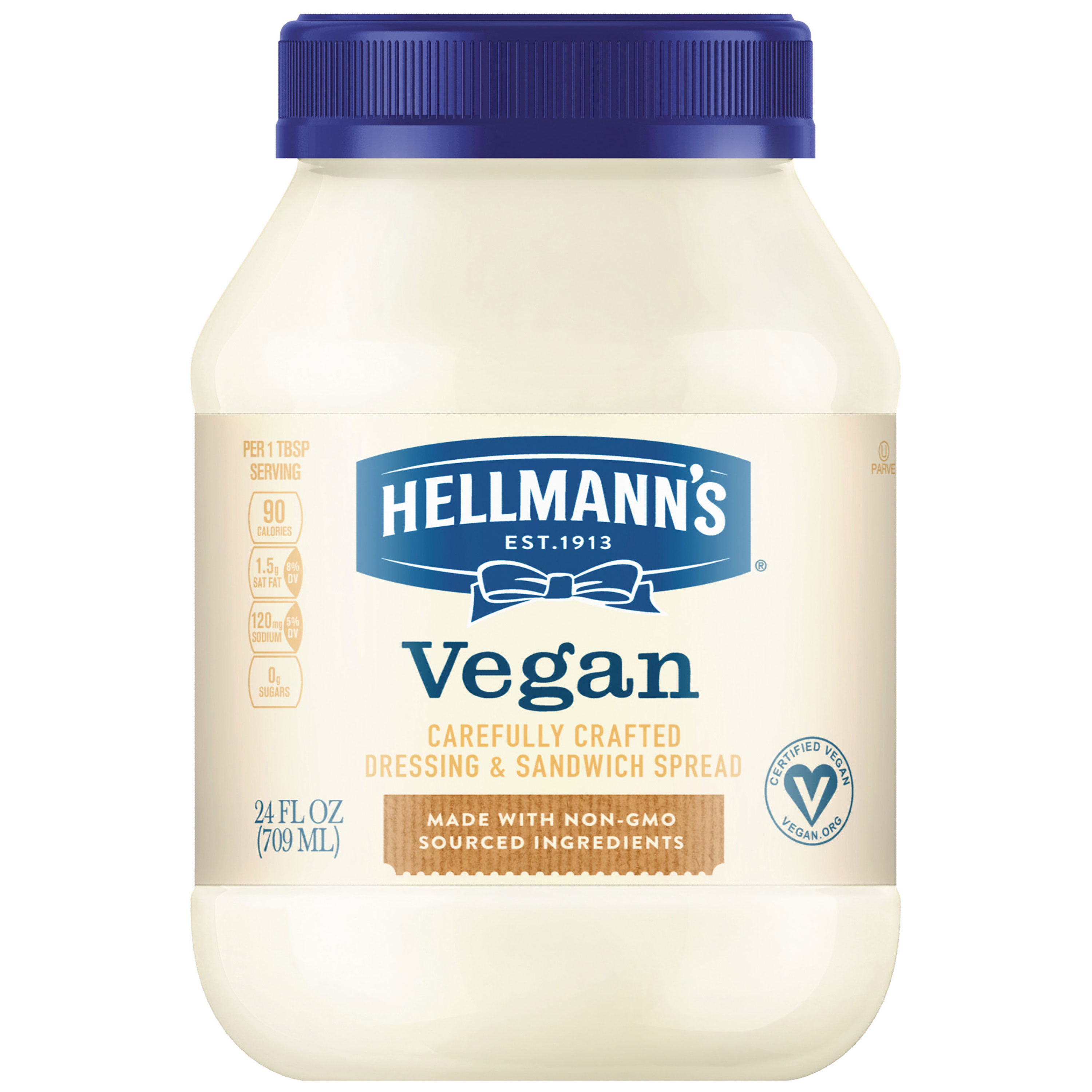 Hellmann's Vegan Dressing and Sandwich Spread, 24 oz