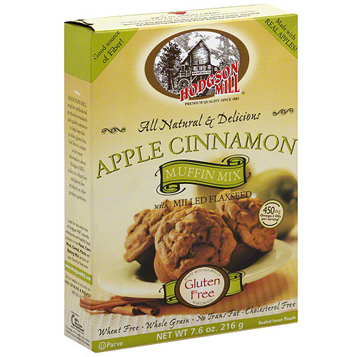 Hodgson Mill Apple Cinnamon Muffin Mix, 7.6 oz (Pack of 6) by Hodgson Mill