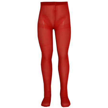 Cheap Red Tights (Nicole Girls Red Solid Color Soft Stretchy Opaque Tights)