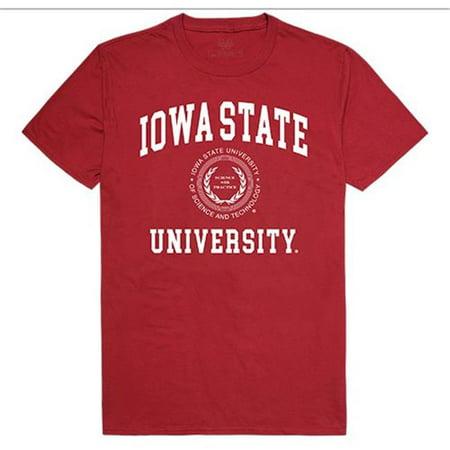 W Republic Apparel 526-125-CAR-02 Iowa State University Seal Tee Shirt for Men - Cardinal, Medium - image 1 of 1