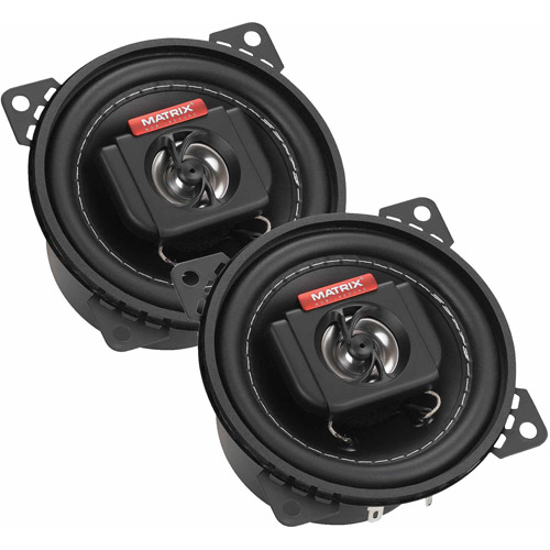 "Matrix Mobilesound 4"" 2-Way Speakers, 200W"