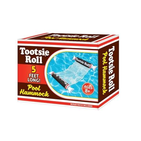Food Pool Floats (Playtek Tootsie Roll Pool Hammock Float)