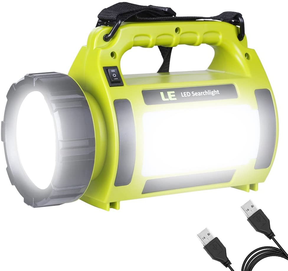 EXTSUD Camping Lantern Rechargeable 1000 Lumen CREE LED Torch Rechargeable and