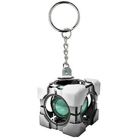 Refracting Box Vinyl Key Chain ()