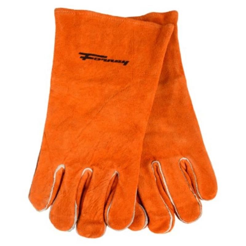 Brown Leather Men's Welding Gloves, X-Large Forney Welding Accessories 53432