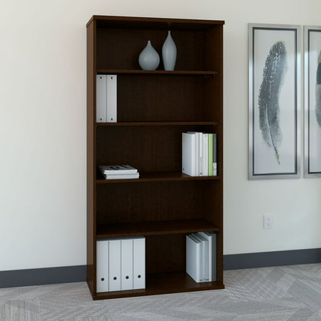 Series C 36 in. Bookcase - Mocha Cherry