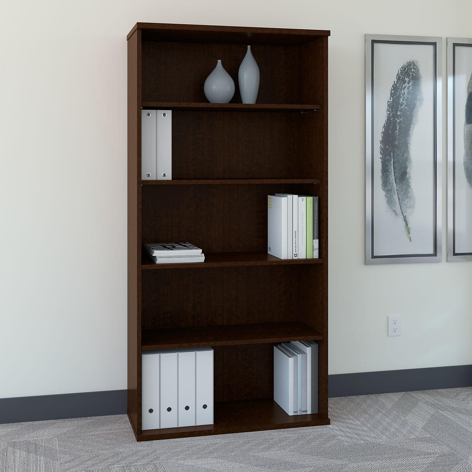 Series C 36 in. Bookcase - Mocha Cherry