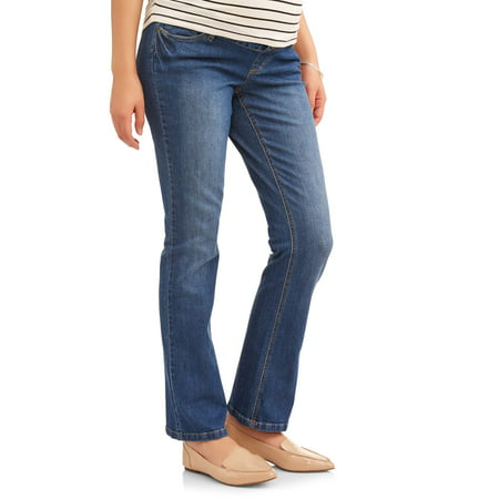 f668b6d527fca Planet Motherhood - Full-Panel 5-Pocket Bootcut Maternity Jeans ...