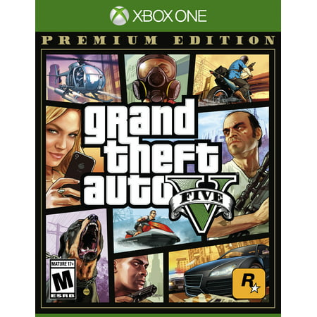 Grand Theft Auto V: Premium Edition, Rockstar Games, Xbox One, 710425590337