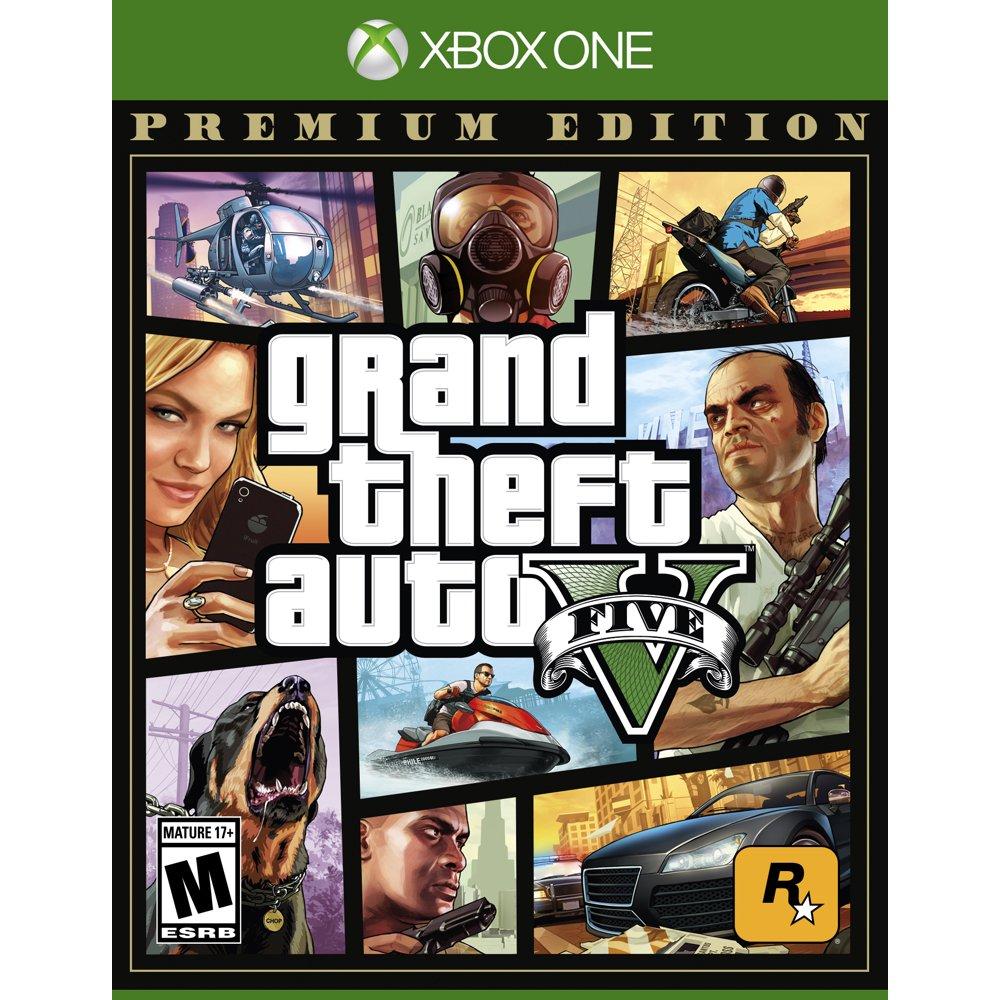 Grand Theft Auto V: Premium Edition, Rockstar Games, Xbox One, 710425590337