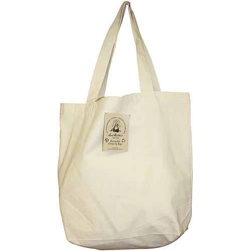 Aunt Martha's Reusable Grocery Bag, White - Walmart.com