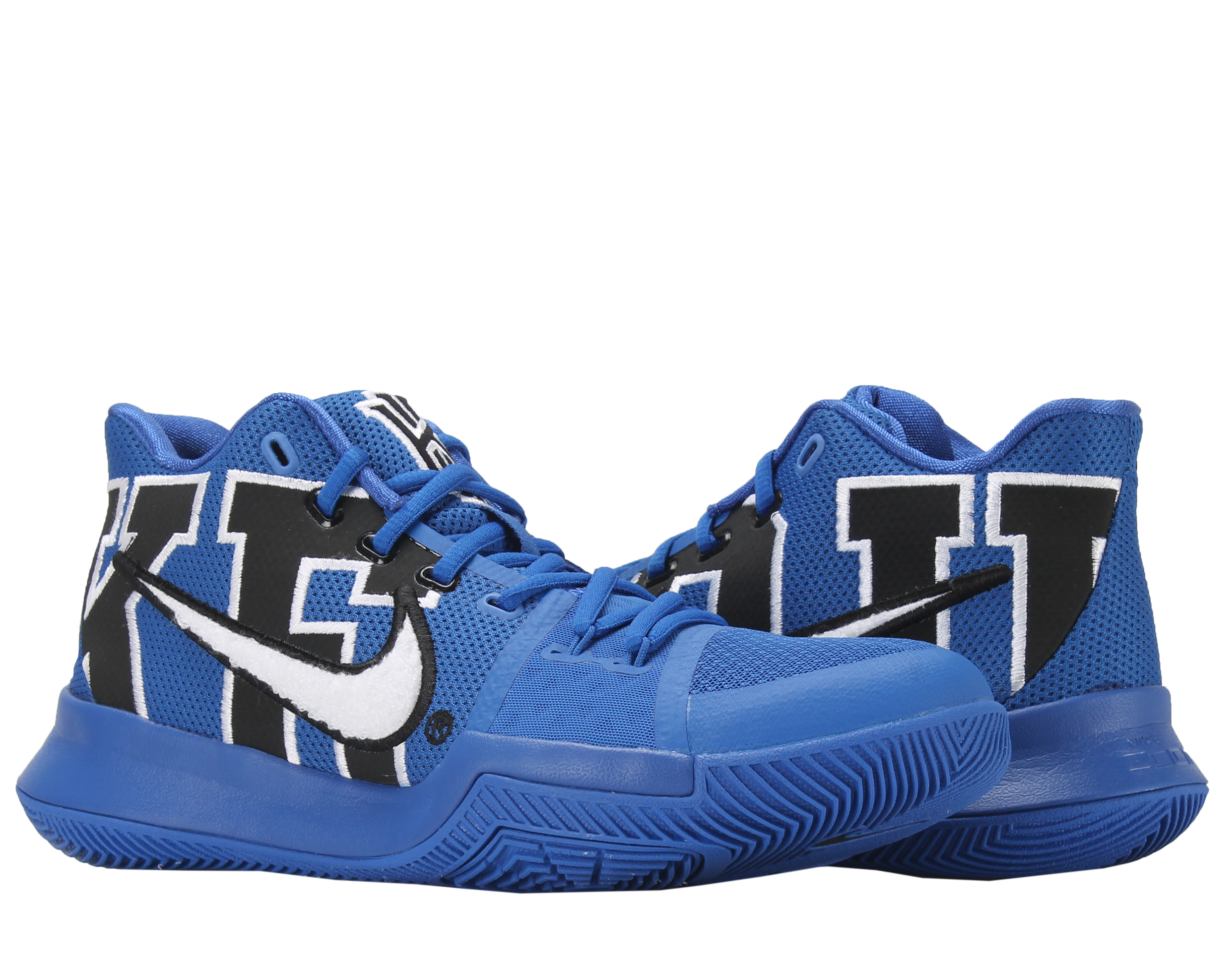 quality design c0b95 ba160 ... usa nike nike kyrie 3 duke black game royal mens basketball shoes f8d2a  e15a3