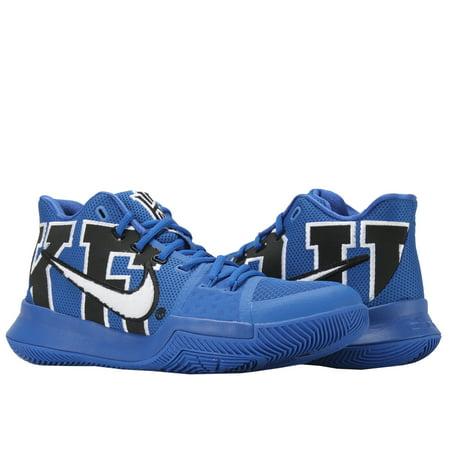 Nike - Nike Kyrie 3 Duke Black Game Royal Men s Basketball Shoes 922027-001  - Walmart.com 87f4ff33f