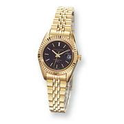 Charles-Hubert Paris Women's Gold-plated, Panther Link Watch