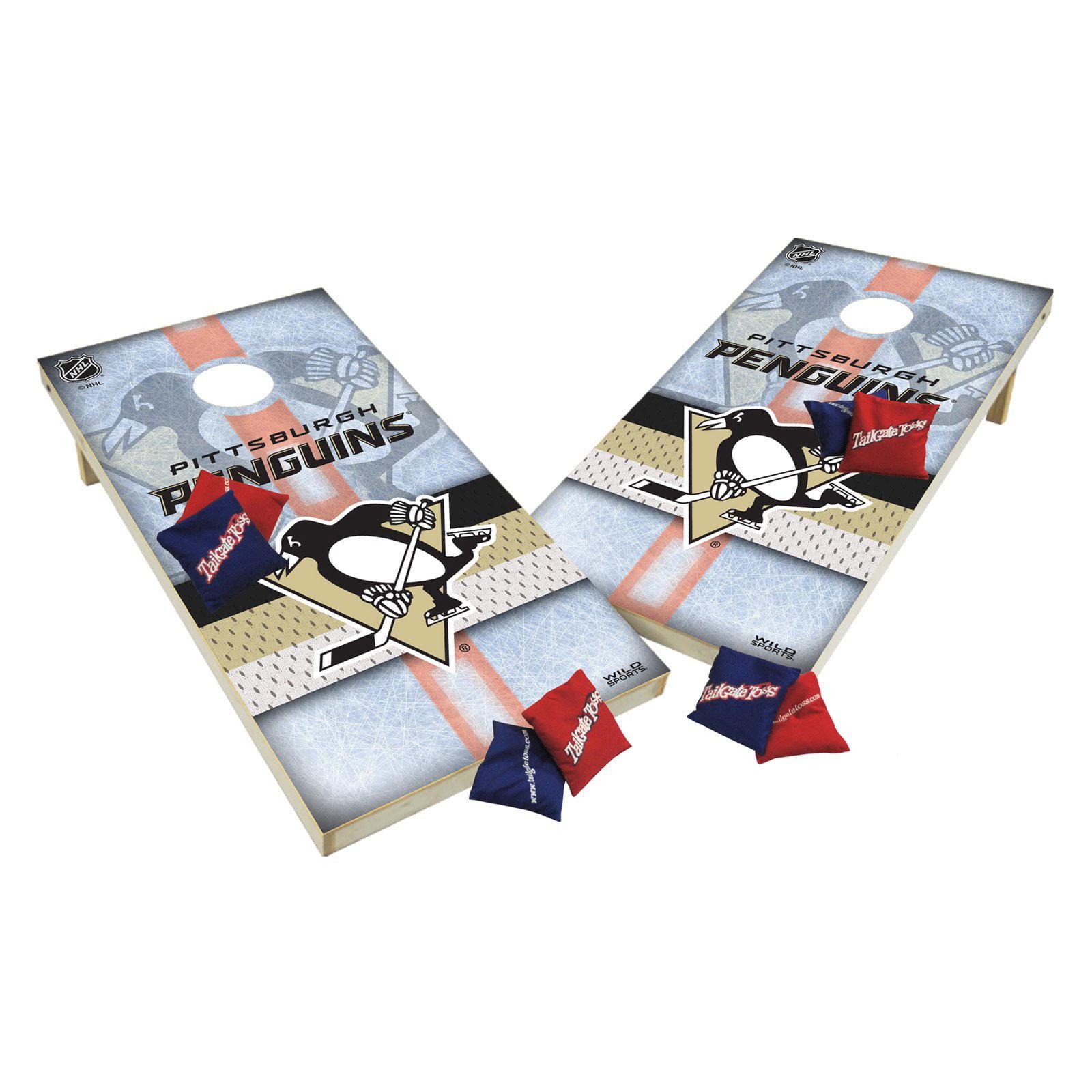TTXL Shield Design 1 NHL New York Rangers Bean Bag Toss Game